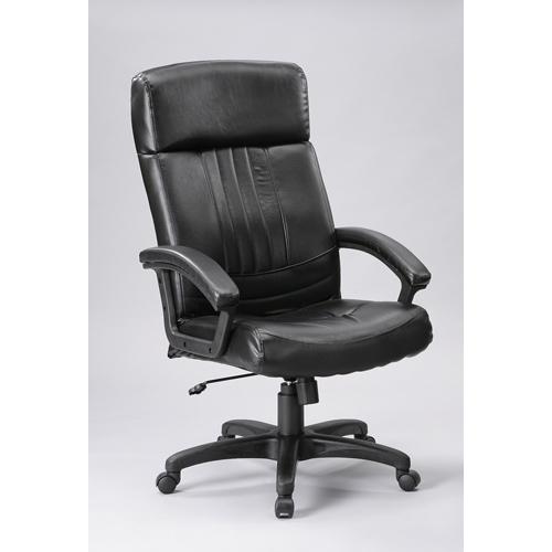 C B科納高背主管皮椅