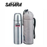 虎牌500cc不鏽鋼保溫保冷瓶(附專用外袋)MSH-B050