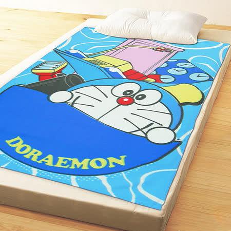 【享夢城堡】哆啦A夢-時空遊行 刷毛毯