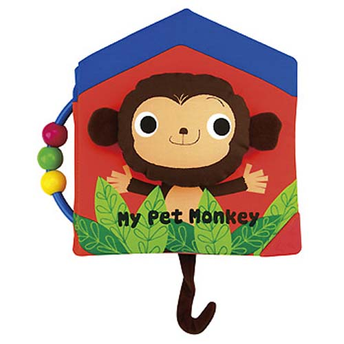 【Read & Play 布書】 My Pet Monkey 我的猴子