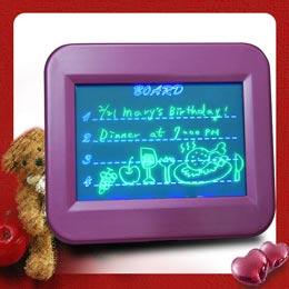 藍燈螢光留言板(小)★超醒目★留言、示愛一把罩~