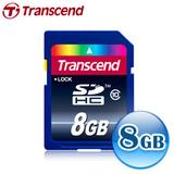 創見 8G SDHC (CL10) Ultra 高速記憶卡