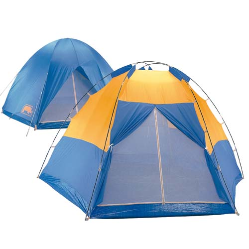 犀牛(RHINO) A-600 防水帳蓬A系列 - 八人掛鉤豪華帳篷.家庭帳 - A600