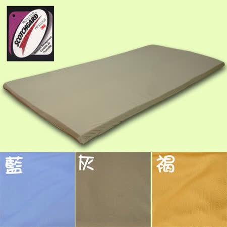 床墊專用3M吸濕排汗透氣網眼布套-單人加大