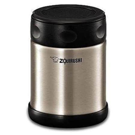 『ZOJIRUSHI』☆象印 不鏽鋼真空悶燒杯 SW-EAE35 不鏽鋼色