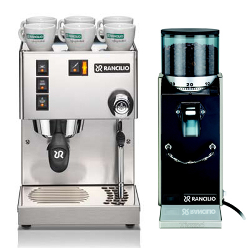RANCILIO MISS Silvia 半自動咖啡機(HG6473)+Rocky 1S 無分量器磨豆機(HG6459)