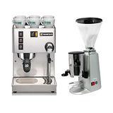 RANCILIO MISS Silvia 半自動咖啡機(HG6473)+900N磨豆機(HG0087)