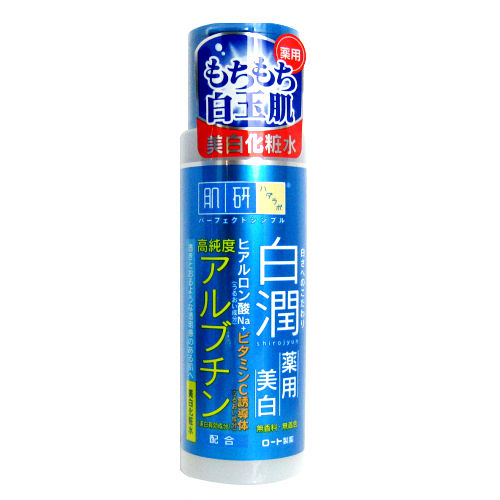 ROHTO肌研 白潤淨白化妝水170ml