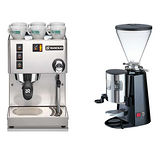 RANCILIO MISS Silvia 半自動咖啡機(HG6473)+901N義式咖啡磨豆機