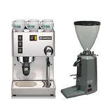 RANCILIO MISS Silvia 半自動咖啡機(HG6473)+500N磨豆機-銀(HG0139)