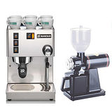 RANCILIO MISS Silvia 半自動咖啡機(HG6473)+TIAMO 半磅義式專用磨豆機(HG0086)