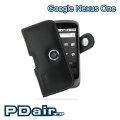 HTC Google Nexus One 專用PDair高質感腰掛橫式PDA手機皮套