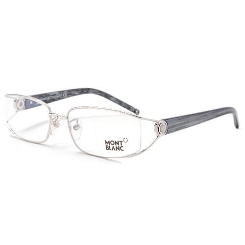 萬寶龍 MONTBLANC 時尚光學眼鏡 (銀色MB200)