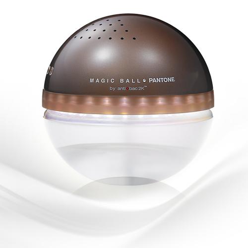 antibac2K 安體百克空氣洗淨機【Magic Ball。Pantone系列 L尺寸/ DARK BROWN】