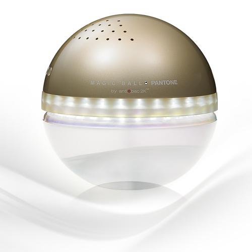 antibac2K 安體百克空氣洗淨機【Magic Ball。Pantone系列 M尺寸 / GOLD】