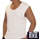 【BVD】時尚天然純棉寬肩背心~6件組