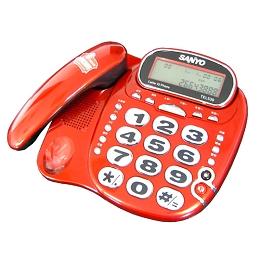 SANYO 來電顯示有線電話 TEL-539