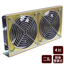 風神《4吋》二孔散熱降溫排風扇 WFEB42