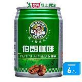 金車伯朗咖啡-白金頂級240ml*6入