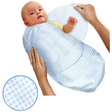 美國 Summer Infant SwaddleMe 懶人嬰兒包巾【純棉法蘭絨薄款】 - 可調式懶人包巾