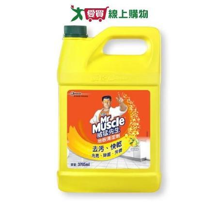 威猛先生愛地潔地板清潔劑-檸檬1加侖