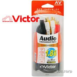 VICTOR 1.8M AV立體聲連接線 VX-7052