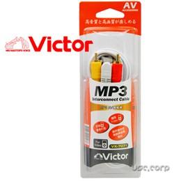VICTOR 1.8M 3.5mm轉 AV 傳輸線 VX-7071