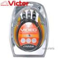 VICTOR 1.8M高質感DVD色差線 VX-701