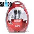 SAMPO HDMI高解析多媒體傳輸線 3M