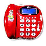 羅蜜歐 甜蜜蘋果來電有線電話(蜜紅)TC-566