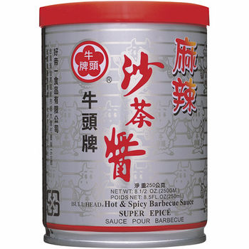 牛頭牌麻辣沙茶醬250g