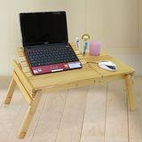 【LIFECODE】小幫手松木筆記型電腦桌/床上桌/NB桌