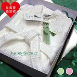 【Jardin Secret】-法國原裝進口浴袍沐浴禮盒
