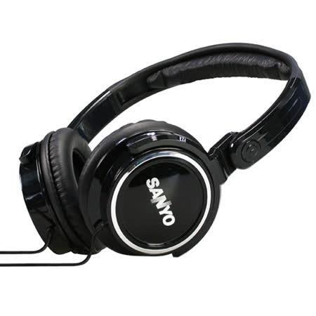 三洋SANYO 立體聲頭戴式折疊耳機(ERP-H07)