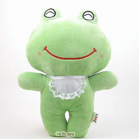 【可愛微笑青蛙】玩偶抱枕