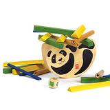 德國Hape愛培遊戲競賽系列-熊貓平衡遊戲