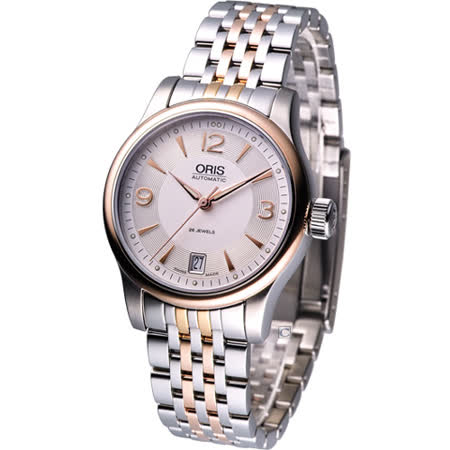 ORIS Classic 系列 康士坦丁 驅魔神探 機械腕錶(73375784361M )37mm中