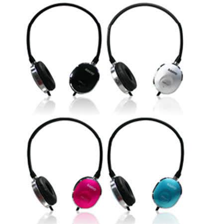 三洋頭戴式耳機ERP-L17(黑、銀、紅、藍)