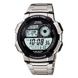CASIO 雷霆世界戰士運動電子錶(鋼帶)