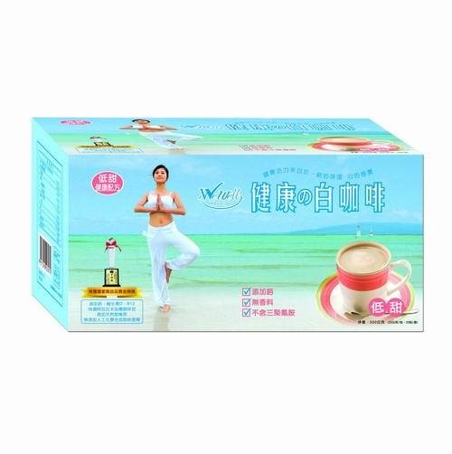 【WeWell】品味家健康の白咖啡-低甜(20包裝)