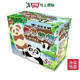 義美熊貓雪糕-牛奶+巧克力60G*5支