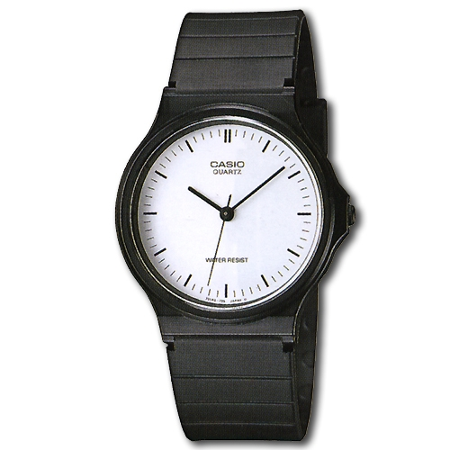 CASIO 簡約風都會腕錶