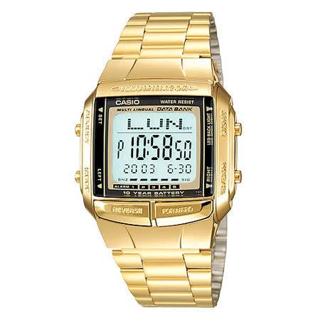 CASIO 金色風暴復刻電子錶