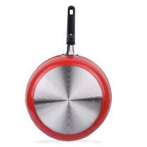 奈米不沾冷瓷平煎鍋28cm