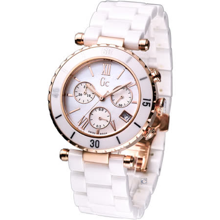 G c 慾望城市經典陶瓷時尚腕錶 GX47504M1
