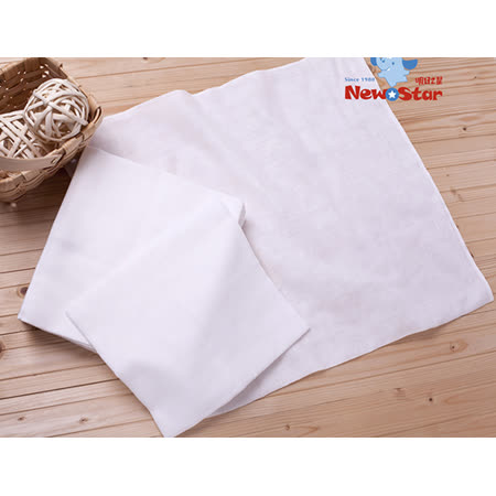 【聖哥-明日之星Newstar】100%純棉新生兒棉紗尿布-大、12條入-布尿布超好用推薦-環保愛地球-經濟實惠垃圾減量-親膚柔軟呵護肌膚