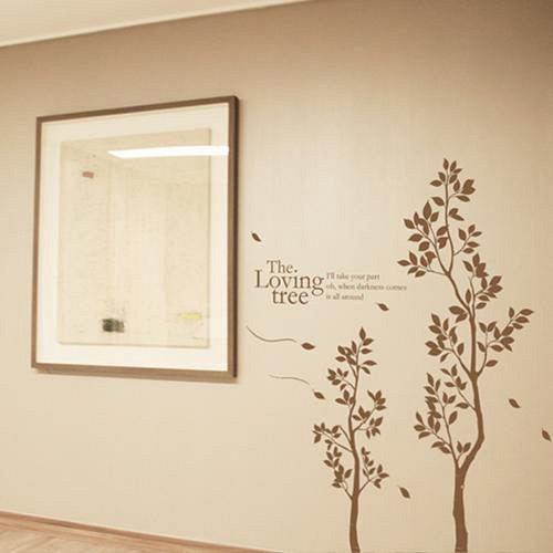 【Design W 創意壁貼】時尚家飾 Loving Tree