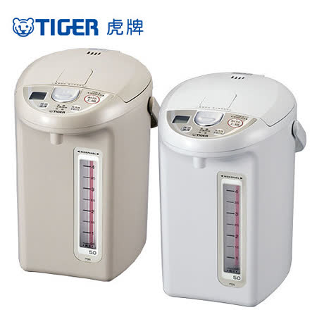 (TIGER 虎牌)5.0L超大按鈕電熱水瓶 PDN-A50R
