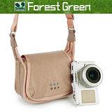 【Forest Green】ENA-103類單眼相機包(駱駝黃)-加送LED拭鏡筆