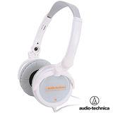 鐵三角 ATH-FC5 OR 高傳真可摺疊耳罩式耳機(熱銷限量版)白橘色